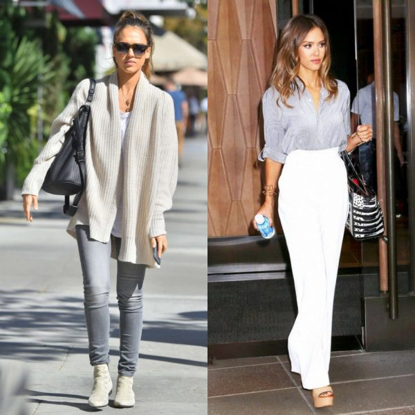 SKYE women fashion how to look taller jessica alba