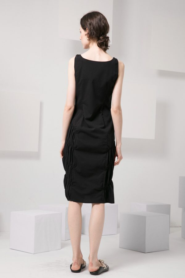 SKYE modern minimalist women clothing fashion Abella Dress black 2