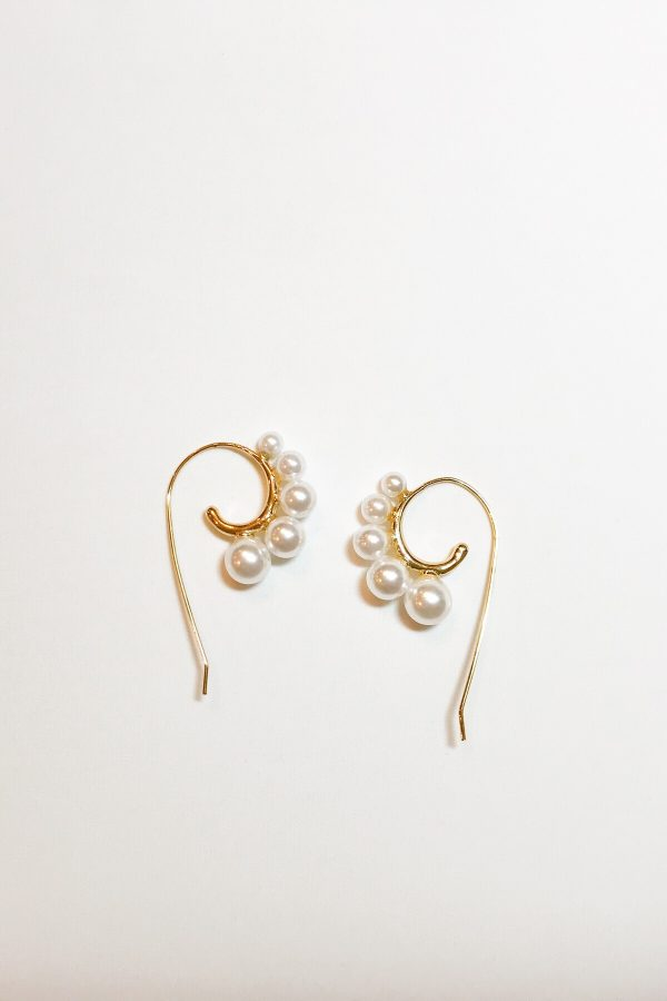 SKYE modern minimalist women fashion accessories Amour Pearl Earrings 12