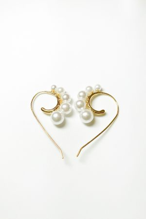 SKYE modern minimalist women fashion accessories Amour Pearl Earrings 13