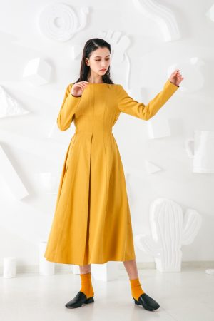 SKYE San Francisco SF shop ethical modern minimalist quality women clothing fashion Madeleine Dress