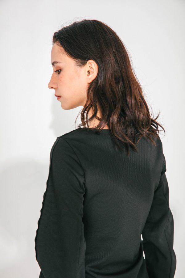 SKYE San Francisco SF shop ethical sustainable modern minimalist quality women clothing fashion Slyvie Top black