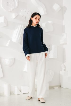 SKYE San Francisco SF California shop ethical sustainable modern minimalist quality women clothing fashion Esmée Pants white