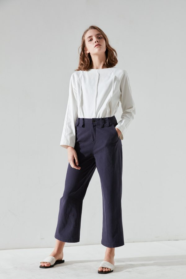 SKYE San Francisco SF California shop ethical sustainable modern minimalist quality women clothing fashion Fayette Cropped Pants 2