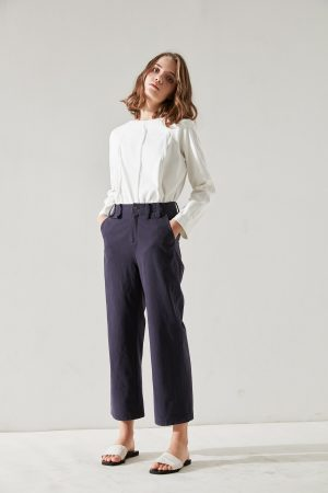 SKYE San Francisco SF California shop ethical sustainable modern minimalist quality women clothing fashion Fayette Cropped Pants 3