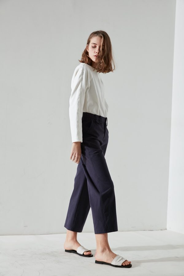 SKYE San Francisco SF California shop ethical sustainable modern minimalist quality women clothing fashion Fayette Cropped Pants