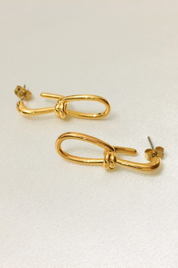 SKYE San Francisco SF California shop ethical sustainable modern minimalist quality women jewelry Artus 18K Gold Earrings