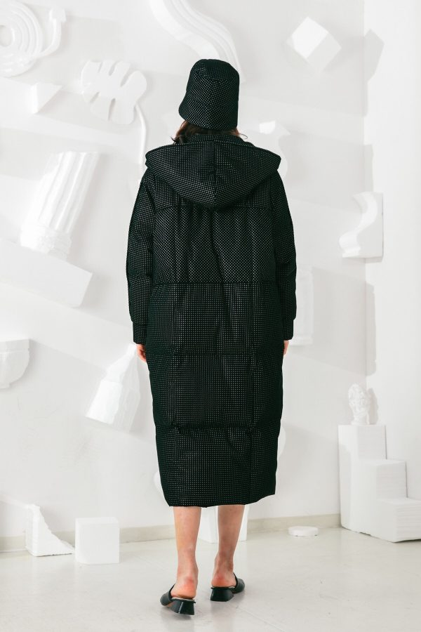 SKYE San Francisco SF shop ethical sustainable modern minimalist elegant quality women clothing fashion brand Garcelle Down Puffer Coat Parka black