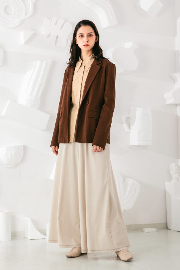 SKYE San Francisco SF shop ethical sustainable modern minimalist quality women clothing fashion Stéphane Pants beige 4