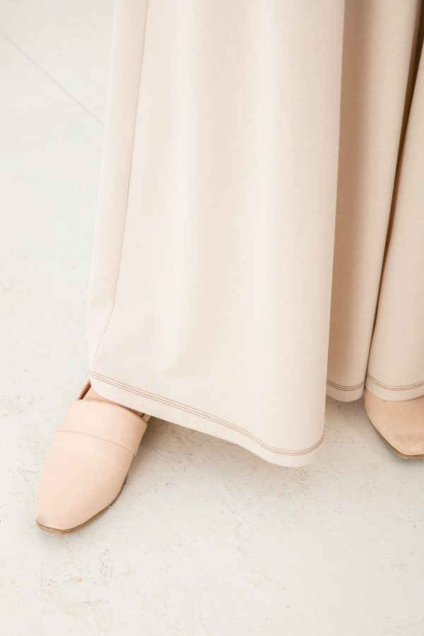 SKYE San Francisco SF shop ethical sustainable modern minimalist quality women clothing fashion Stéphane Pants beige 5