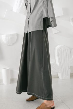 SKYE San Francisco SF shop ethical sustainable modern minimalist quality women clothing fashion Stéphane Pants green 5