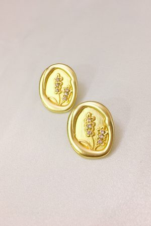 SKYE San Francisco SF California shop ethical sustainable modern minimalist quality women jewelry Maribel 18K Gold Earrings Coin 2