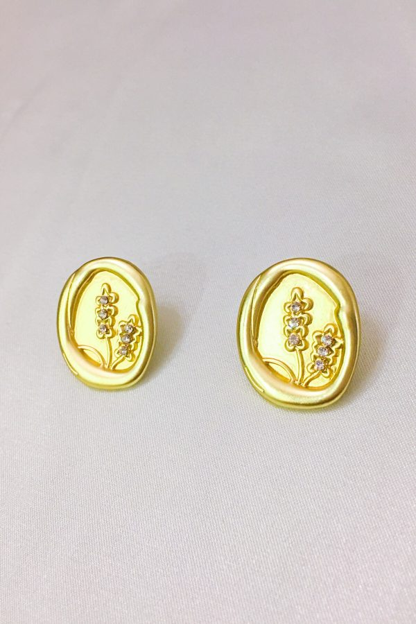 SKYE San Francisco SF California shop ethical sustainable modern minimalist quality women jewelry Maribel 18K Gold Earrings Coin 3