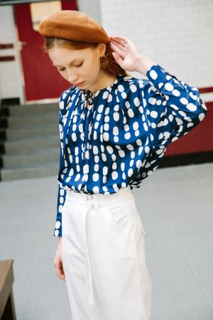 SKYE San Francisco SF shop ethical sustainable modern minimalist luxury women designer fashion Spring 2020 Monique Blouse 5