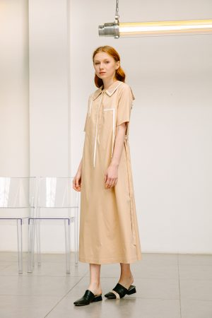 SKYE San Francisco SF shop ethical sustainable modern minimalist quality women clothing boutique fashion Spring 2020 Vivienne Dress nautical sailor