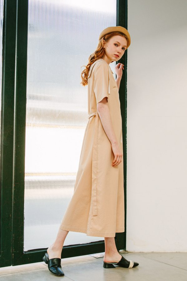 SKYE San Francisco SF shop ethical sustainable modern minimalist quality women clothing boutique fashion Spring 2020 Vivienne Dress nautical sailor 5
