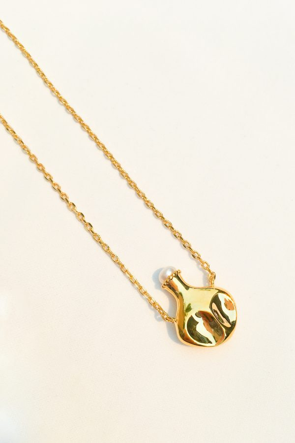 SKYE San Francisco SF California shop ethical sustainable modern chic designer women jewelry Hermione 18K Gold Freshwater Pearl Necklace 2