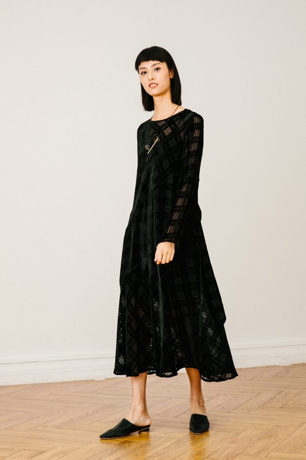 SKYE SF SAN FRANCISCO SHOP MINIMALIST CHIC WOMEN CLOTHING ETHICAL SUSTAINABLE MODERN CALIFORNIA Dezi Dress black 2