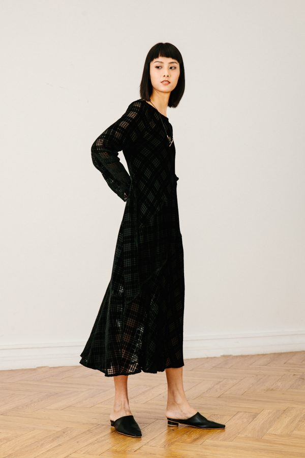 SKYE SF SAN FRANCISCO SHOP MINIMALIST CHIC WOMEN CLOTHING ETHICAL SUSTAINABLE MODERN CALIFORNIA Dezi Dress black 3