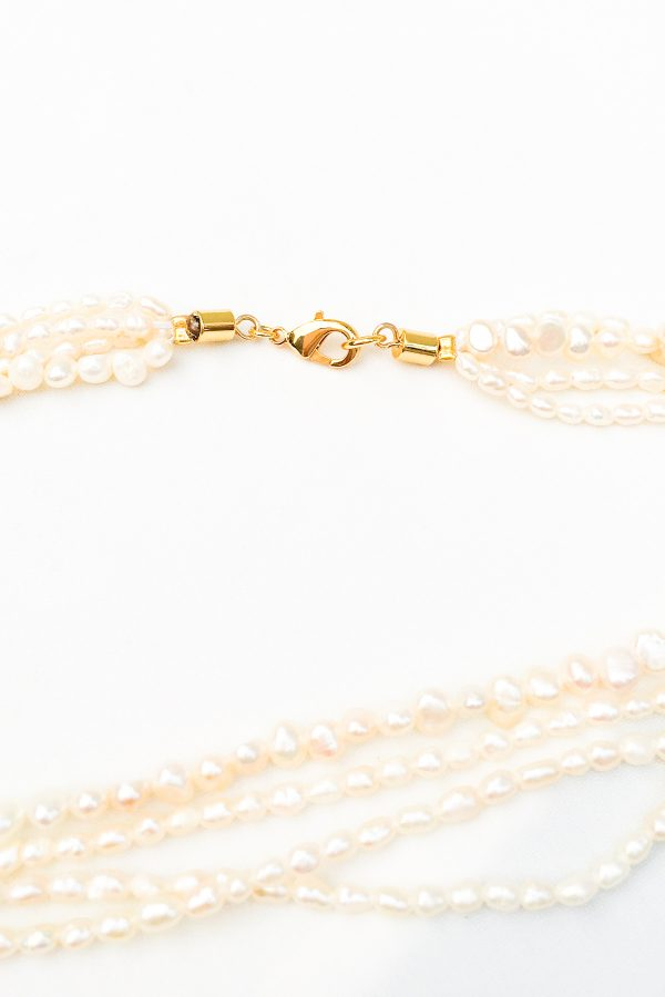 SKYE San Francisco SF California shop ethical sustainable modern chic designer women jewelry Dolcina 18K Gold Freshwater Pearl Necklace 3