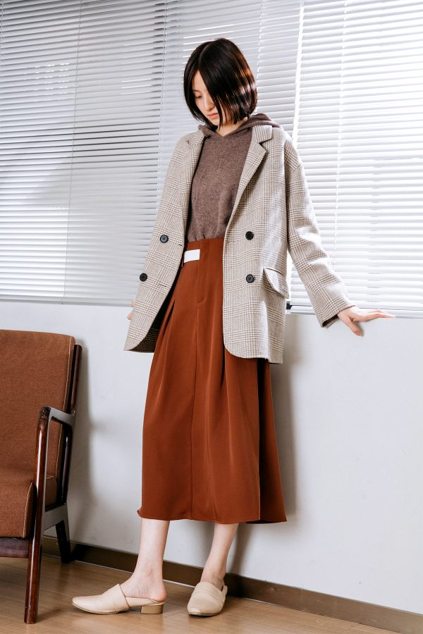 SKYE San Francisco SF California shop ethical sustainable modern chic minimalist luxury clothing women fashion Nancie Handmade Wool Coat 5